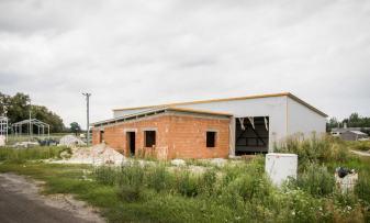 Hala produkcyjna w Bierutowie